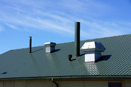 Mit Belüftungsanlagen lassen sich Häuser auch beheizen.